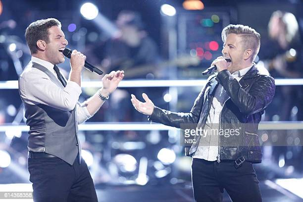 THE VOICE 'Battle Rounds' Pictured Andrew DeMuro Billy Gilman