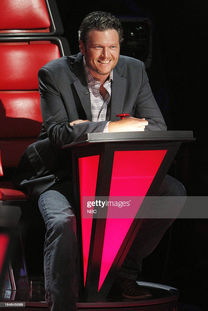 THE VOICE -- 'Battle Rounds' -- Pictured: <a gi-track='captionPersonalityLinkClicked' href=/galleries/search?phrase=Blake+Shelton&family=editorial&specificpeople=2352026 ng-click='$event.stopPropagation()'>Blake Shelton</a> --