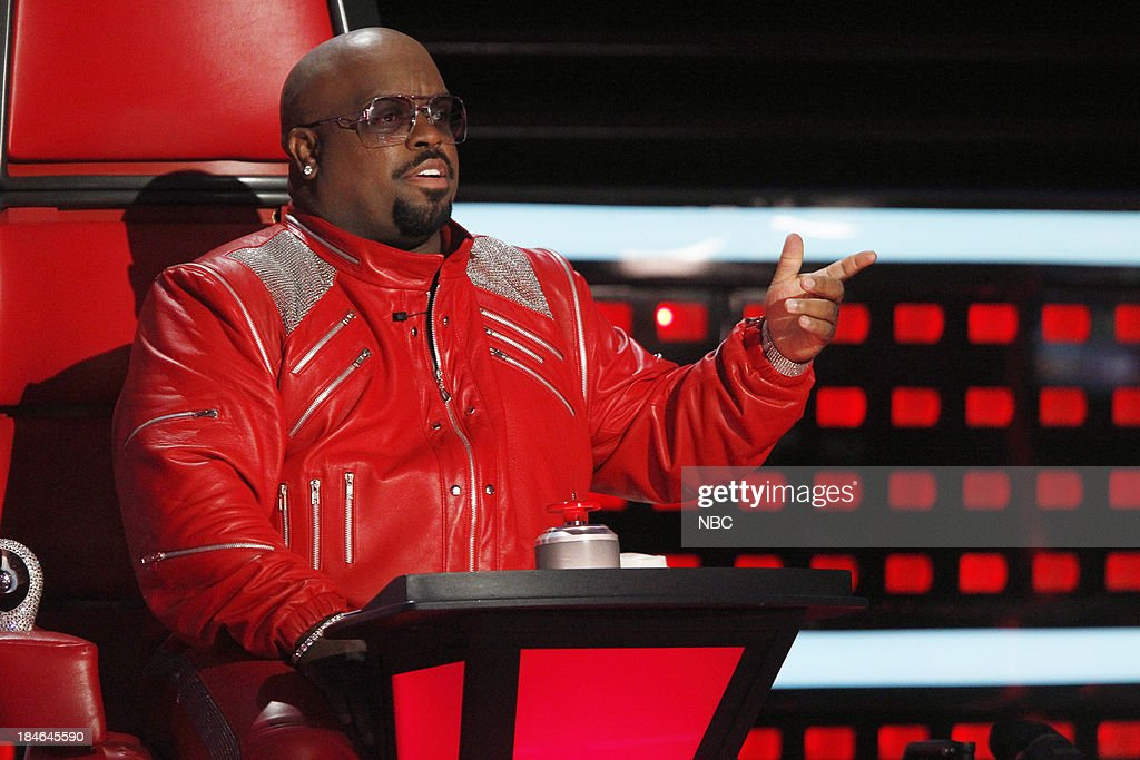 THE VOICE -- 'Battle Rounds' -- Pictured: CeeLo Green --