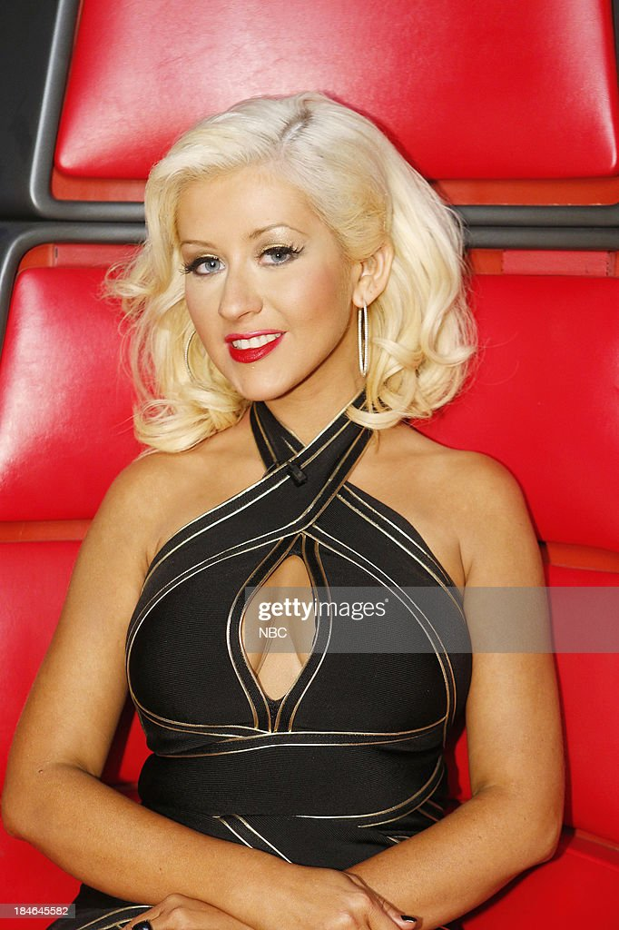 THE VOICE -- 'Battle Rounds' -- Pictured: Christina Aguilera --