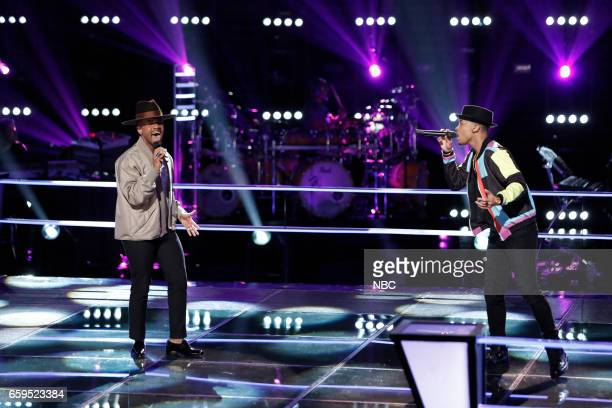 THE VOICE 'Battle Rounds' Pictured Kawan DeBose Malik Davage