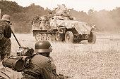 Battlefield troops