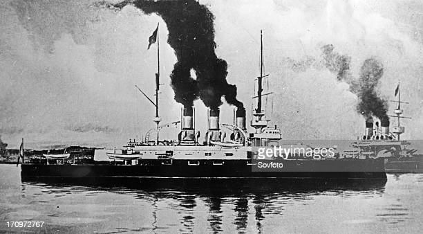 Battleship potemkin on which a revolutionary uprising took place june 14 24 1905