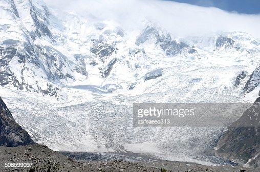 Batura Glacier : Stock Photo