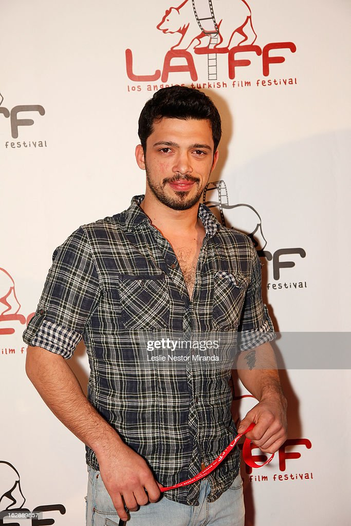 Baturay Tavkui attends The 2nd Annual Los Angeles Turkish Film Festival Opening Reception at the Egyptian Theatre on February 28, 2013 in Hollywood, California.