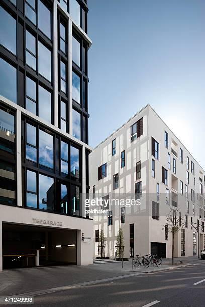 Bauhaus reloaded - cubic buildings