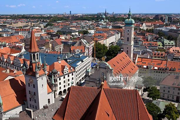 München, Bayern, Deutschland Old town hall und Center