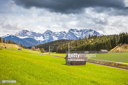 Bavarian, Alps, Germany