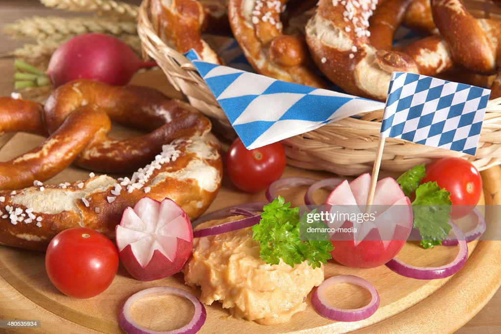 Bavarian breakfast : Stock Photo