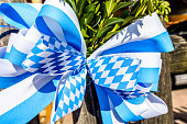typical bavarian decoration at a fence
