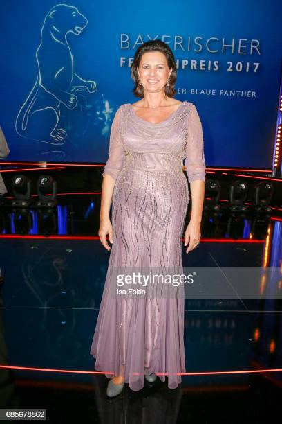 Bavarian Minister for Economic Affairs Ilse Aigner during the Bayerischer Fernsehpreis 2017 at Prinzregententheater on May 19 2017 in Munich Germany