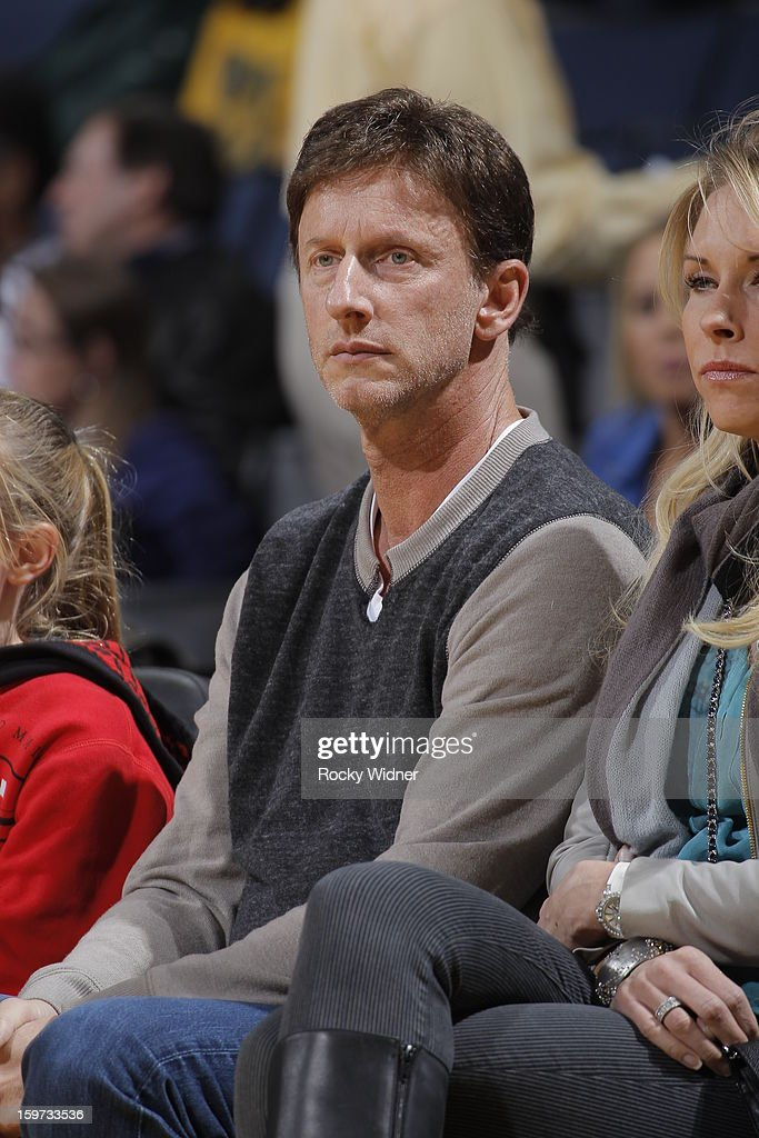 Bay Area investor Mark Mastrov, founder of 24 Hour Fitness, attends the game between the Miami Heat and the Golden State Warriors on January 16, 2013 at Oracle Arena in Oakland, California.