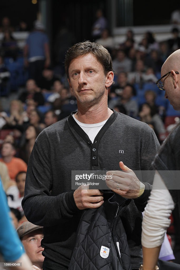 Bay Area investor Mark Mastrov in attendance of the game between the Miami Heat and the Sacramento Kings on January 12, 2013 at Sleep Train Arena in Sacramento, California.