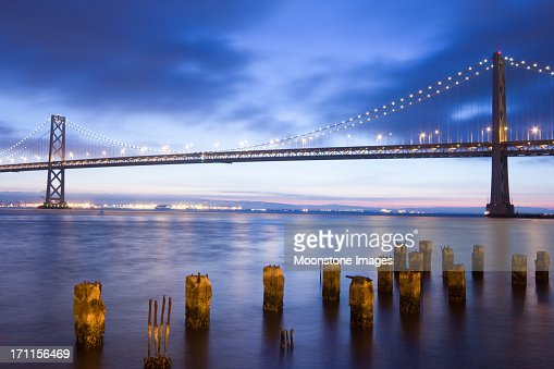Bay Bridge in San Francisco, California