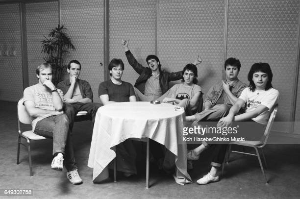 Bay City Rollers at press conference March 1983