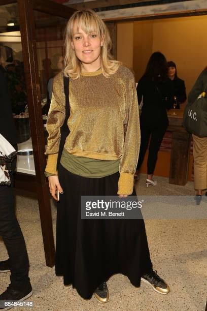 Bay Garnett attends an open house hosted by Dover Street Market to celebrate Photo London on May 18 2017 in London England