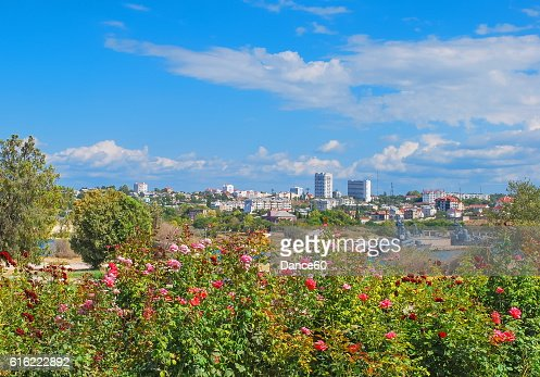 Bay in Sevastopol : Stock Photo