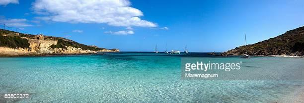 Bay in the Revellata Peninsula