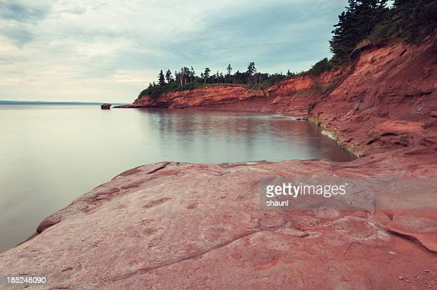 Bay of Fundy Coastline