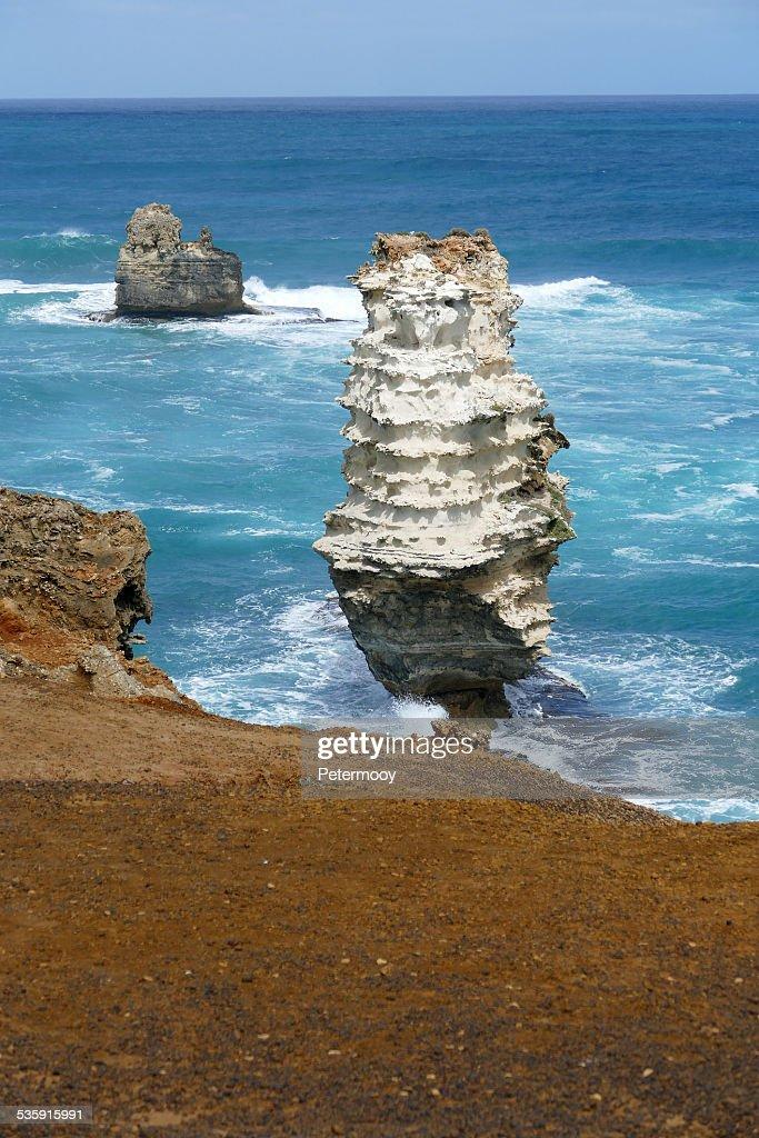 Baía da Ilha de Parque litoral : Foto de stock