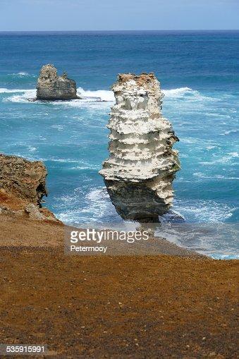 Bahía de islas Coastal Park : Foto de stock