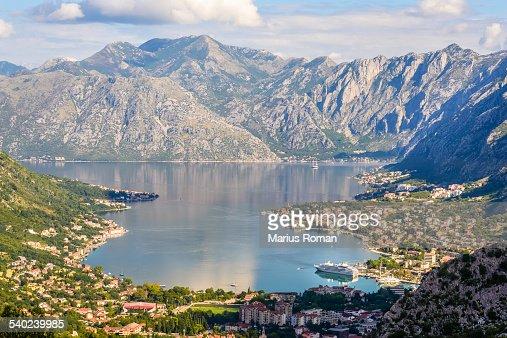 Bay of Kotor and Kotor city