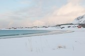 Bay on Moskensoy on the Loftofen Islands,  Norway