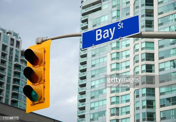 Bay Street - Downtown Toronto