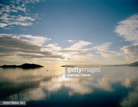Bay, sunrise : Stock Photo