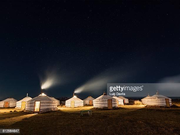 Bayan gobi ger camp Mongolia