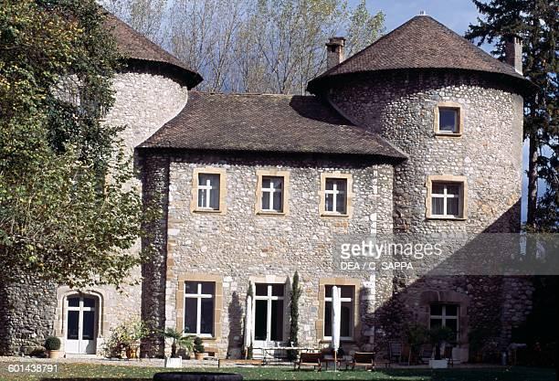 Bayard castle Pontcharra RhoneAlpes France 15th century