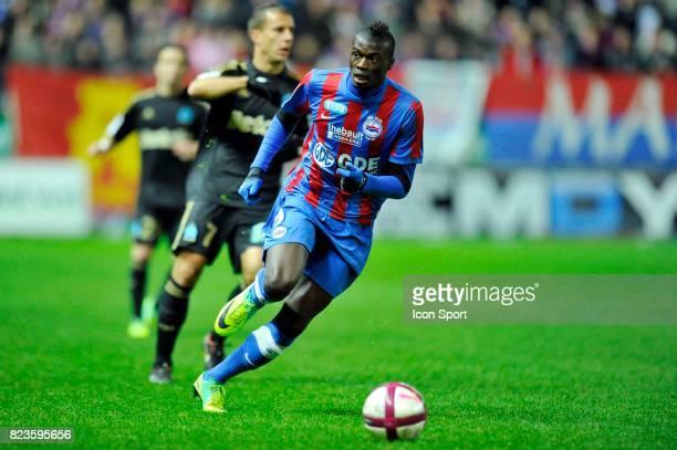 M'Baye NIANG Caen / Marseille 16eme Journee de Ligue 1