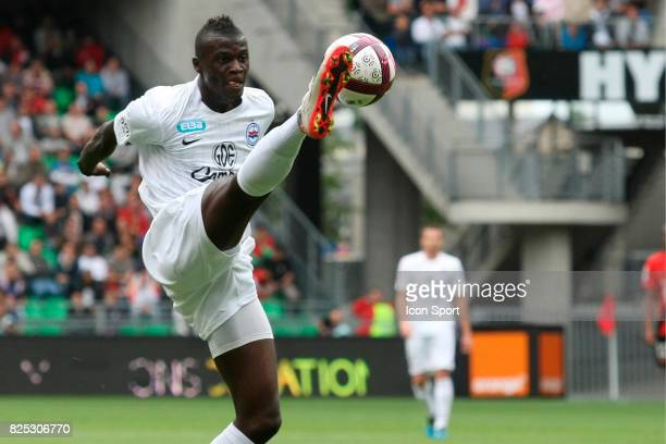 M'Baye NIANG Rennes / Caen 4eme journee de Ligue 1