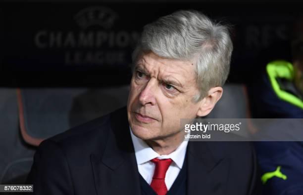 FUSSBALL FC Bayern Muenchen Arsenal London Trainer Arsene Wenger