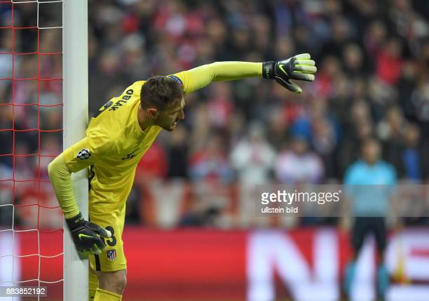 FUSSBALL FC Bayern Muenchen Atletico Madrid Torwart Jan Oblak