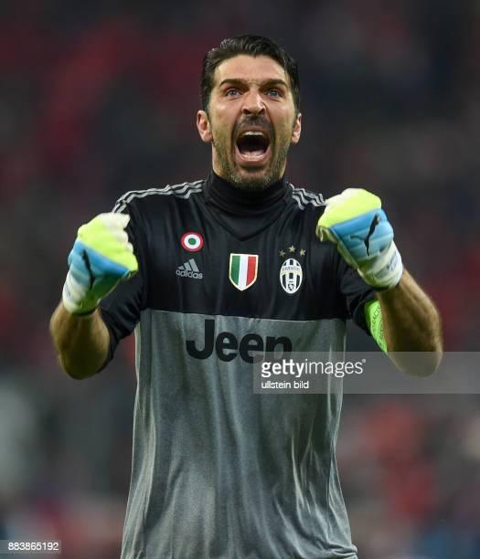 FUSSBALL FC Bayern Muenchen Juventus Turin Torwart Gianluigi Buffon