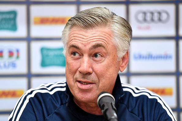 ICC Singapore FC Bayern Press Conference : News Photo