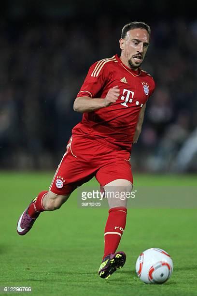 FC Bayern Munchen Paulaner Cup des Sudens im neuen Trikot der Bundesligasasion 2011 / 2012