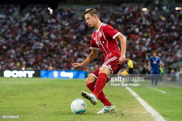 Bayern Munich Defender Marco Friedl in action during the International Champions Cup match between Chelsea FC and FC Bayern Munich at National...