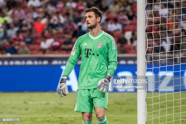 Bayern Munich Goalkeeper Sven Ulreich in action during the International Champions Cup match between FC Bayern and FC Internazionale at National...