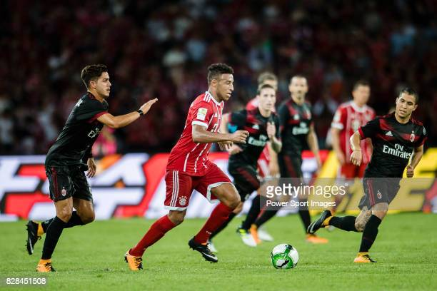 Bayern Munich Midfielder Corentin Tolisso in action during the 2017 International Champions Cup China match between FC Bayern and AC Milan at...