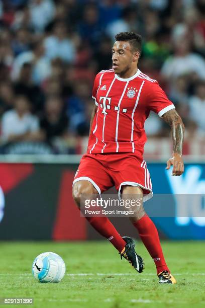 Bayern Munich Midfielder Corentin Tolisso in action during the International Champions Cup match between Chelsea FC and FC Bayern Munich at National...