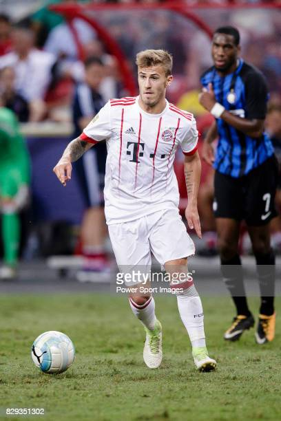 Bayern Munich Midfielder Niklas Dorsch in action during the International Champions Cup match between FC Bayern and FC Internazionale at National...