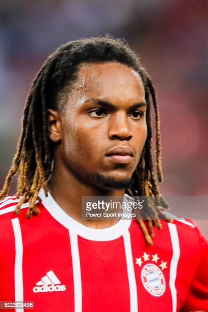 Bayern Munich Midfielder Renato Sanches during the International Champions Cup match between Chelsea FC and FC Bayern Munich at National Stadium on...
