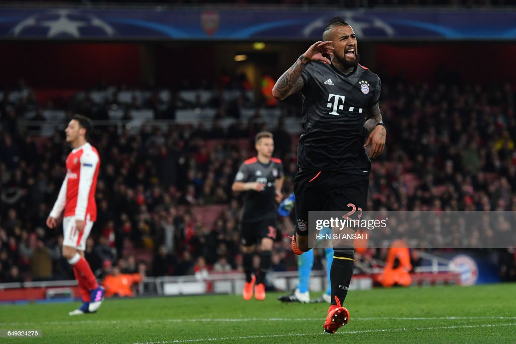 FBL-EUR-C1-ARSENAL-BAYERN MUNICH : News Photo