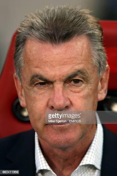 Bayern Munich's coach Ottmar Hitzfeld