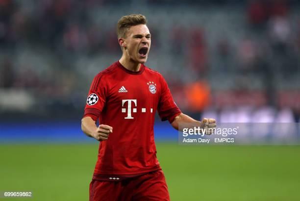 Bayern Munich's Joshua Kimmich celebrates