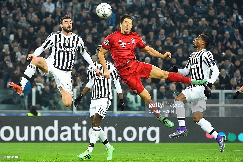 FBL-EUR-C1-JUVENTUS-BAYERN MUNICH : News Photo