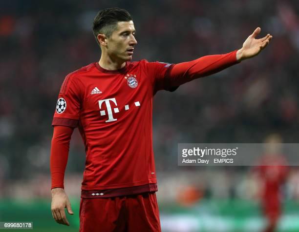 Bayern Munich's Robert Lewandowski