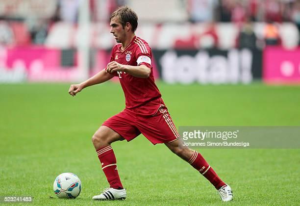 BayernSpieler Philipp Lahm im Einsatz beim BundesligaSpiel zwischen dem FC Bayern Muenchen und Borussia Moenchengladbach am in der Muenchner...